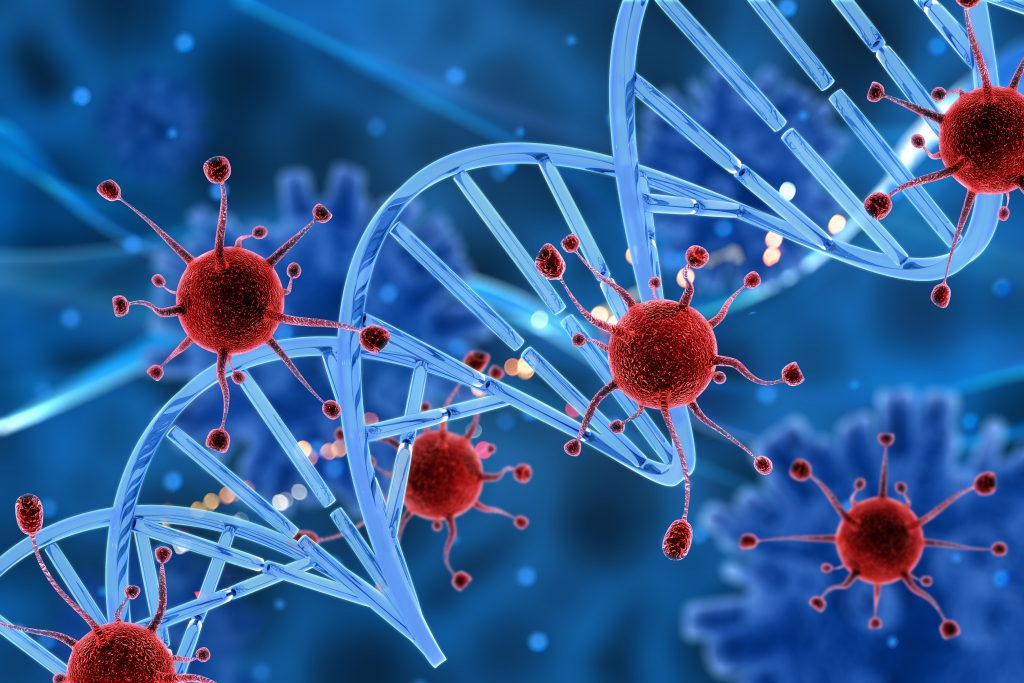 DNA double helix gene sequence